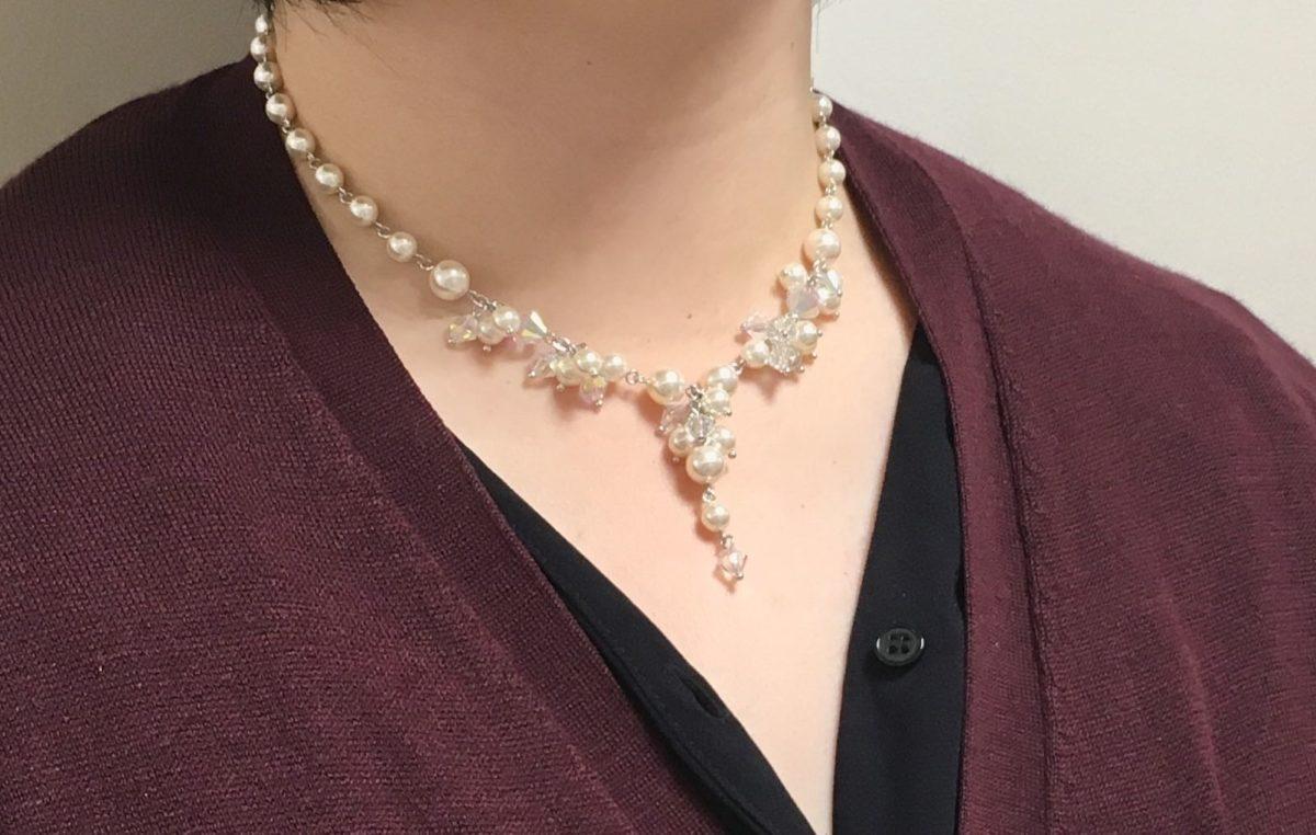 ブライダル をネックレスを着用している画像 アクセサリー 福袋 2020の内容